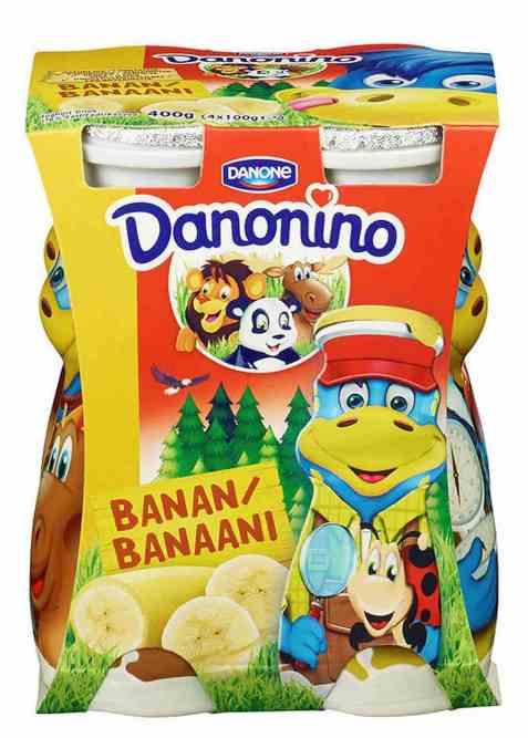 Bilde av Danonino Drikke banan.