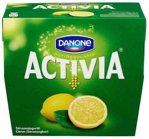 Bilde av Danone Activia yoghurt sitron.