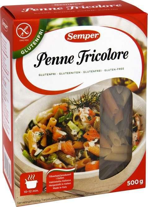Bilde av Semper penne tricolore.