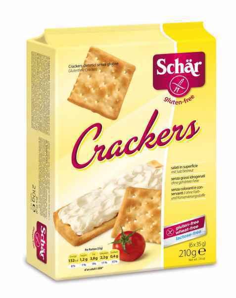 Bilde av DrSchär Crackers.