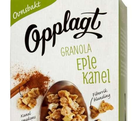 Bilde av Møllerens Opplagt Granola Eple og Kanel.