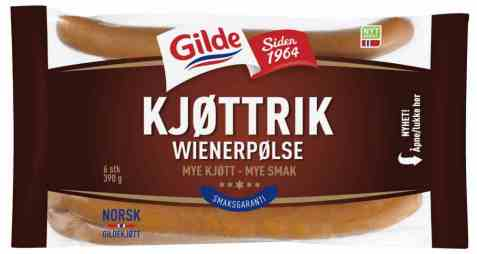 Bilde av Gilde kjøttrik wienerpølse.