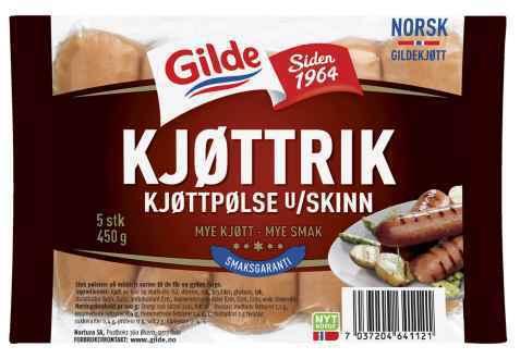 Bilde av Gilde kjøttrik kjøttpølse.