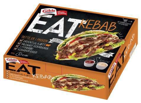 Bilde av Gilde EAT Kebab.
