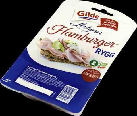 Bilde av Gilde Løvtynn Hamburgerrygg.