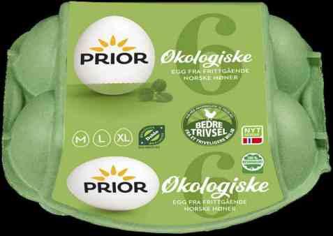 Bilde av Prior egg mlxL økologiske.