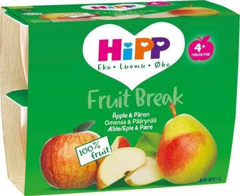 Bilde av Hipp Fruit break eple og pære.