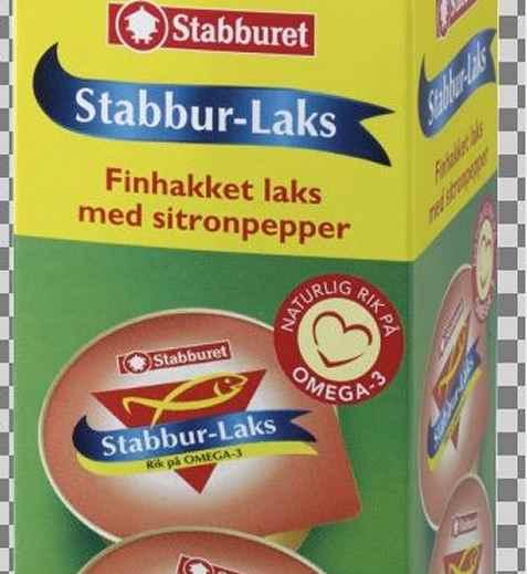 Bilde av Stabbur laks med sitronpepper.