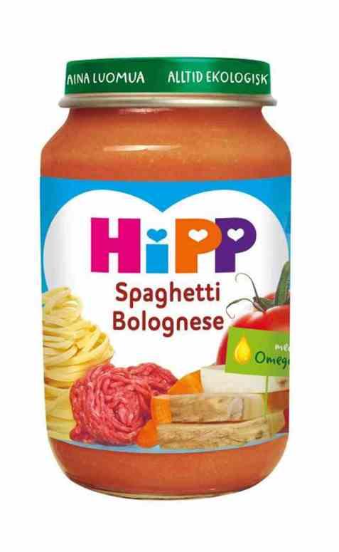 Bilde av Hipp Spaghetti Bolognese.