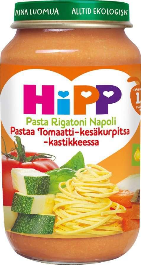 Bilde av Hipp Pasta Rigatoni Napoli.