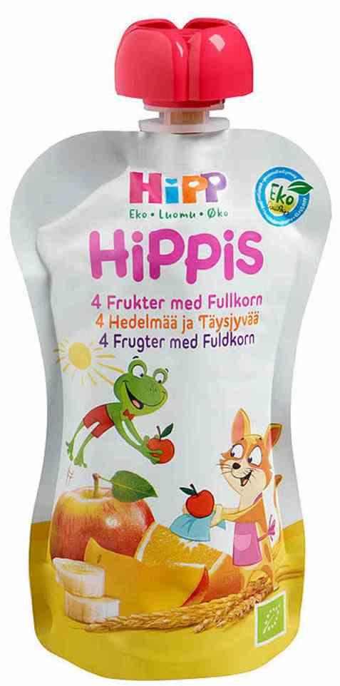 Bilde av Hipp Smoothie - 4 Frukter & Fullkorn.