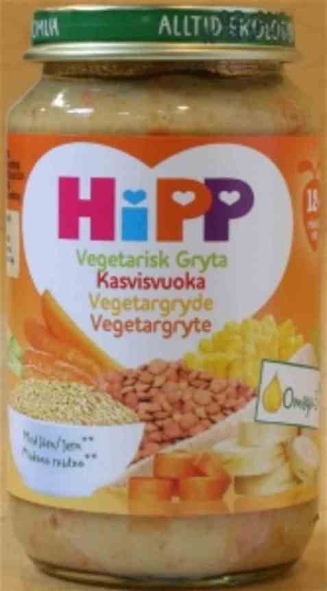 Bilde av Hipp vegetargryte.