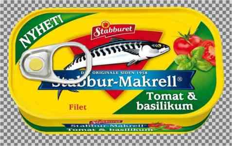 Bilde av Stabbur makrell tomat og basilikum.