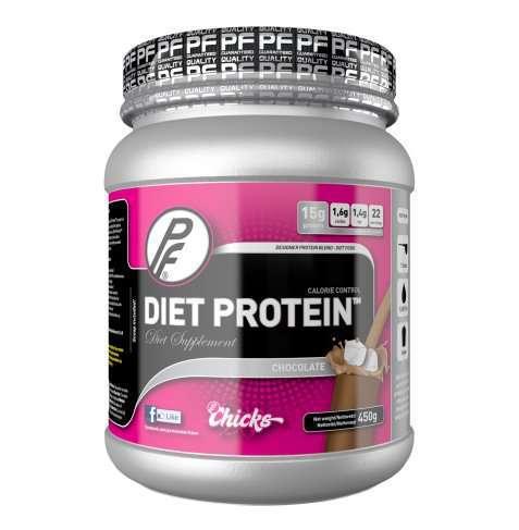 Bilde av Proteinfabrikken Diet Protein 450g Chocolate Heaven.