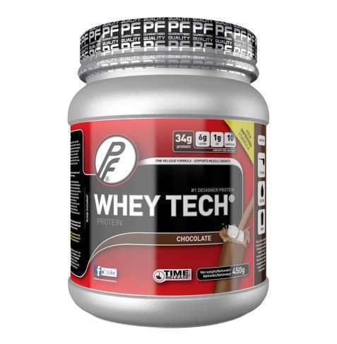 Bilde av Proteinfabrikken Whey Tech® 450g Sjokolade.