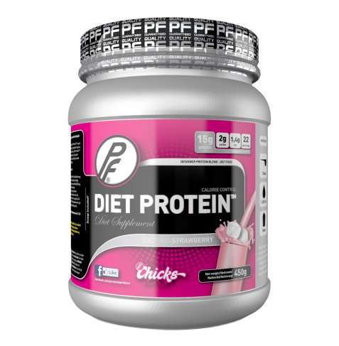 Bilde av Proteinfabrikken Diet Protein 450g Strawberry Surprise.