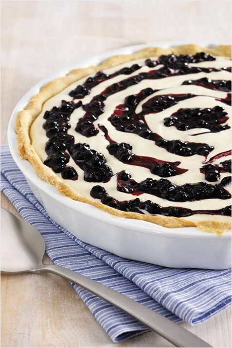 Bilde av Stabburet blåbærpai kokkeklar.