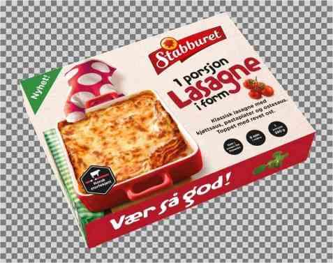 Bilde av Stabburet lasagne.