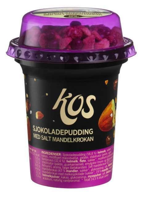 Bilde av Kos sjokoladepudding med crisp.