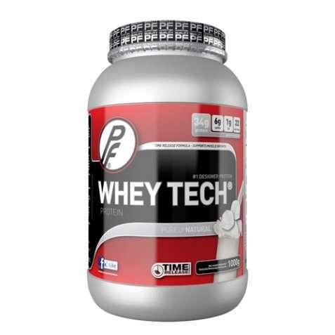 Bilde av Proteinfabrikken Whey Tech® 1000g Nøytral.