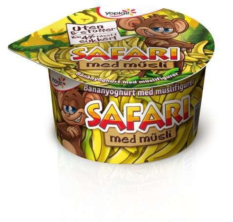 Bilde av Yoplait Safari Banan med musli.