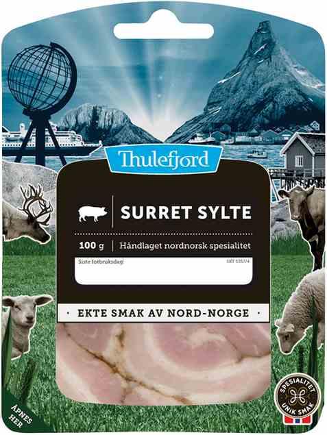 Bilde av Thulefjord surret sylte skivet.