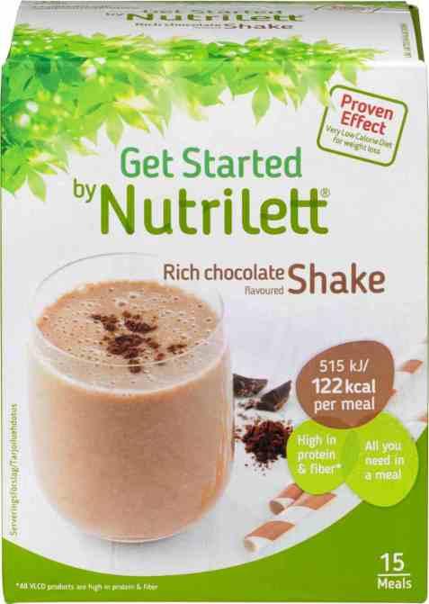 Bilde av Nutrilett Quick Weight loss Chocolate Shake.