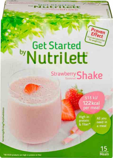 Bilde av Nutrilett Quick Weight loss Strawberry Shake.