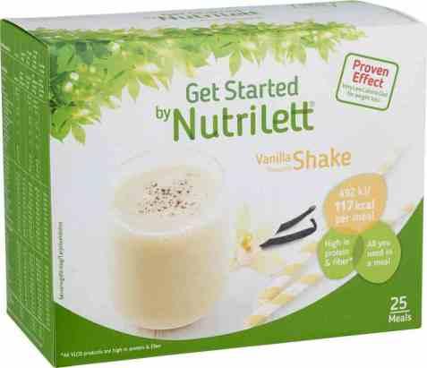 Bilde av Nutrilett Quick Weight Loss Vanilla Shake.