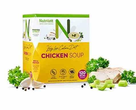 Bilde av Nutrilett Quick Weight Loss Creamy Chicken Soup.