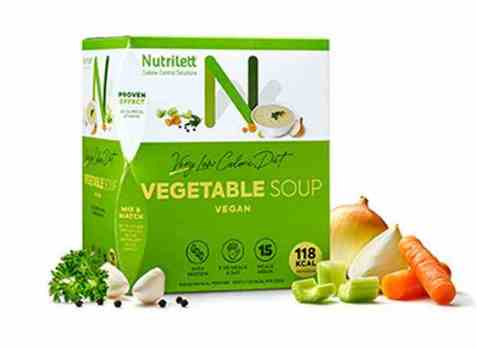 Bilde av Nutrilett Vegetable Soup15 pk.