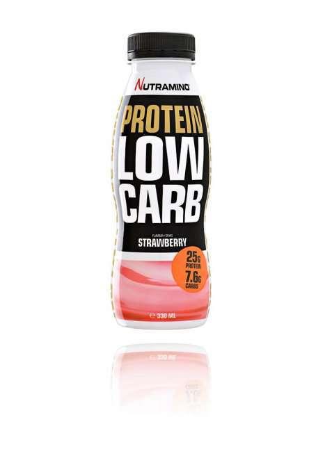 Bilde av Nutramino Protein Low Carb Shake Strawberry 330 ml.