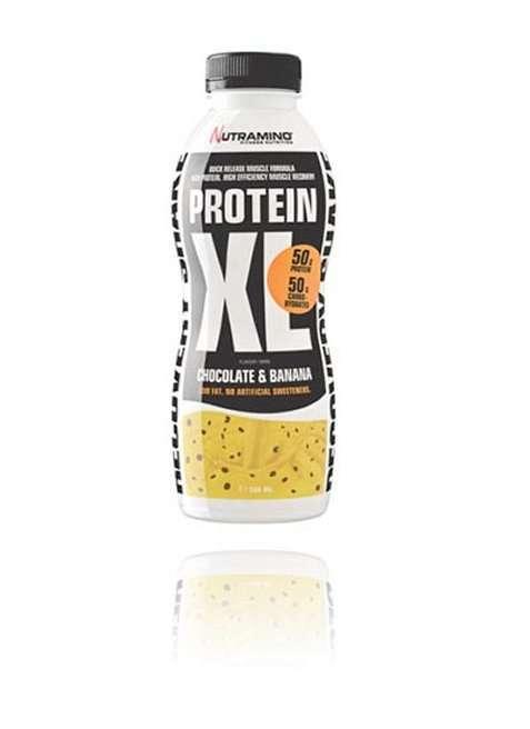 Bilde av Nutramino Protein XL Shake Chocolate & Banana 500ml.