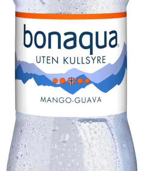 Bilde av Bonaqua Mango-Guava.