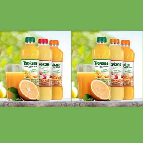Bilde av Tropicana Apple & Mango.