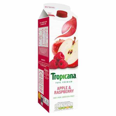 Bilde av Tropicana apple and raspberry.