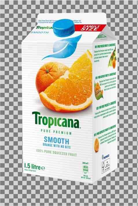 Bilde av Tropicana smooth style.