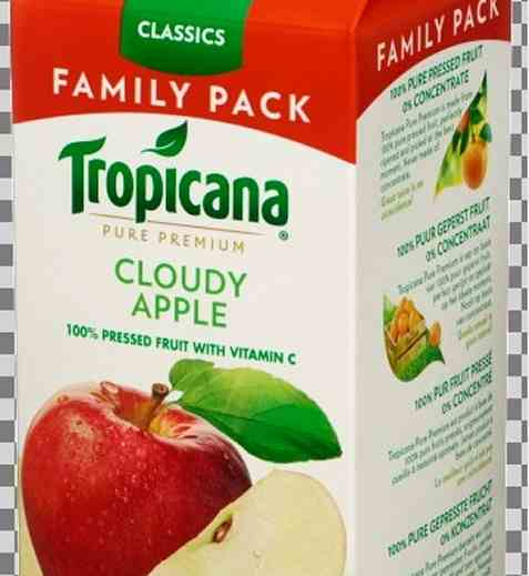 Bilde av Tropicana Cloudy Apple.