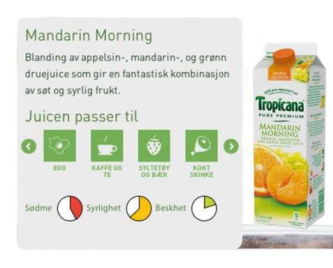 Bilde av Tropicana mandarin morning.