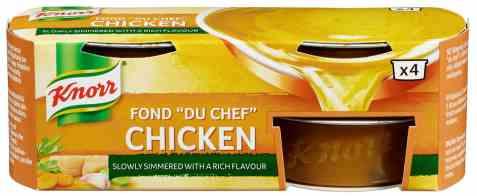 Bilde av Knorr fond du chef kylling konsentrat.
