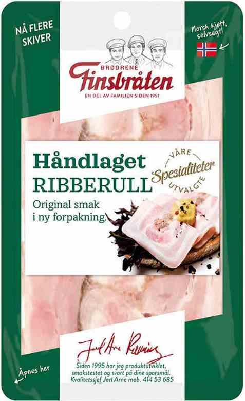 Bilde av Finsbråten ribberull håndlaget.