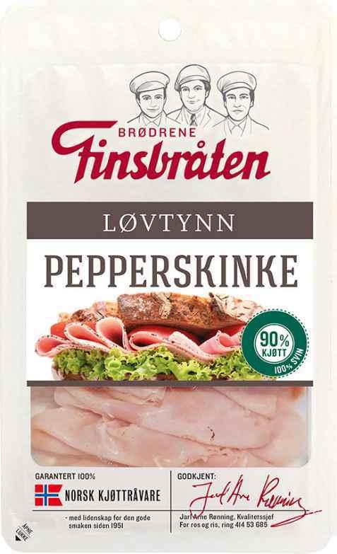 Bilde av Finsbråten pepperskinke løvtynn.