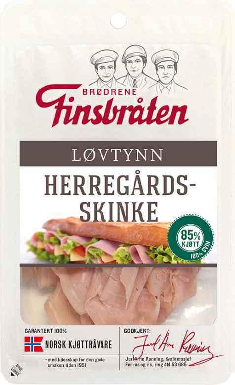 Bilde av Finsbråten herregårdsskinke løvtynn.