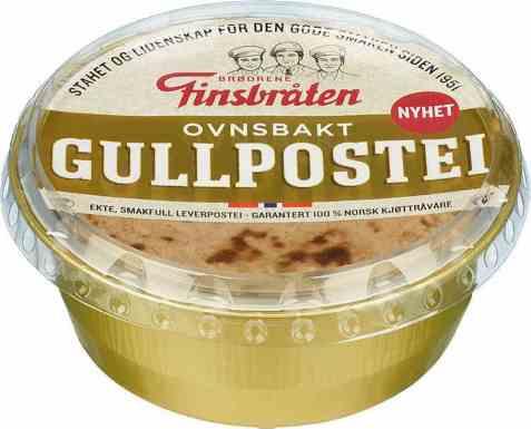 Bilde av Finsbråten gullpostei ferskpakket.