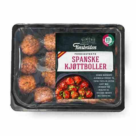 Bilde av Finsbråten spanske kjøttboller.