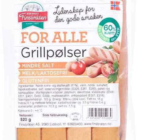 Bilde av Finsbråten for alle grillpølser.