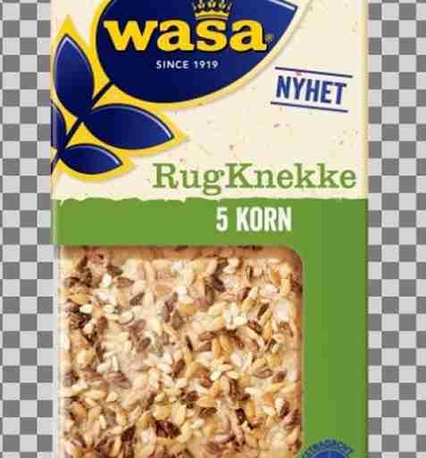 Bilde av Wasa RugKnekke 5 Korn.