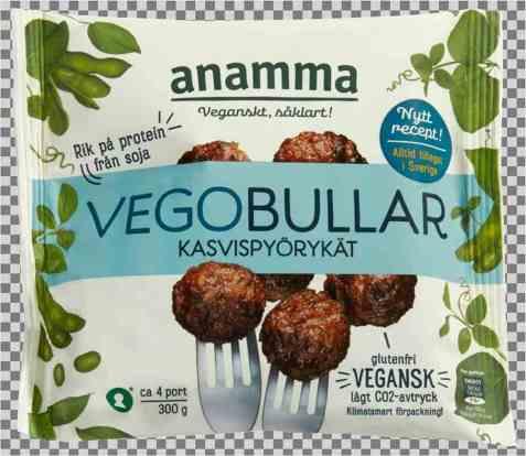 Bilde av Anamma Vegoboller vegan.