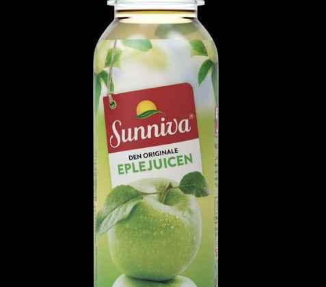 Bilde av Tine Sunniva Original Eplejuice med fruktkjøtt.