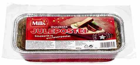 Bilde av Mills Ovnsbakt julepostei bacon.